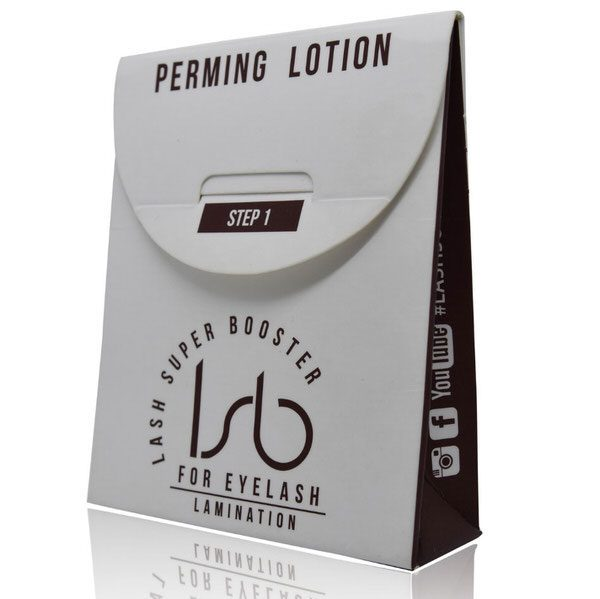 Eyelash perming lotion is used as a step 1 in Lash Lift treatment. Contains 10 single-use sachets. Developing time 7-12 min.