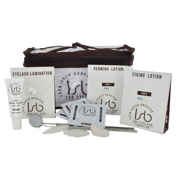 Lash Super Booster Lash Lift kit contains all the products needed for 10 treatments.