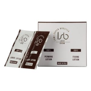 Lami Super Booster perming lotion and fixing lotion are 2in1 - this means they can be used for both lash lift and brow lamination